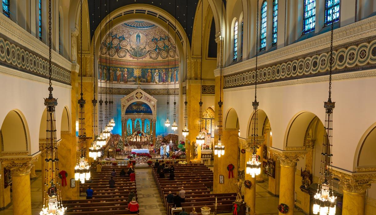 St Mary's Parish Dome
